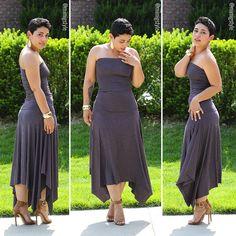 DIY Easy Sexy Dress Tutorial / Mimi G Style