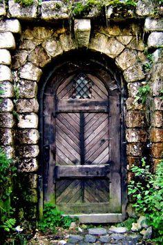 a door in Romania