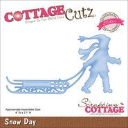 Cottage Cutz Elites Die Snow Day