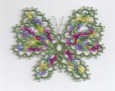 Beautiful butterfly!  I want to make this!