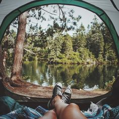 "1,449 curtidas, 36 comentários - ⠀⠀⠀⠀⠀⠀⠀⠀⠀⠀⠀⠀⠀⠀⠀⠀Alexandra (Alex Jones.svd) no Instagram: ""The thing I love the most about camping is that when you wake up, the first thing you feel is calm…"""