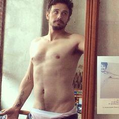james franco shirtless sexy selfie