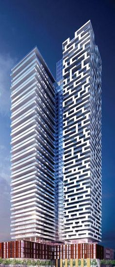 Yonge & Rich tower, Toronto, Canada by Great Gulf :: 50 floors, residential