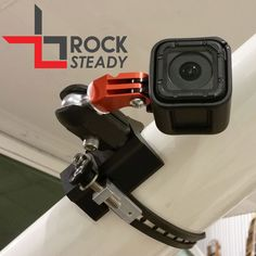 Single Point Dovetail Base Flight Flix GoPro /& Garmin VIRB Rock Steady Mount