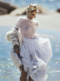 Abbey Lee Kershaw by Gilles Bensimon for Vogue Australia April 2014