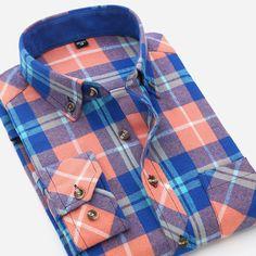 Flannel Plaid Western Long Sleeve Shirt