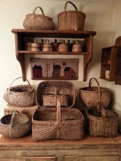 Bunches of beautiful baskets!