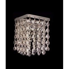 Classic Lighting Bedazzle 1 Light Wall Sconce Crystal Type: Swarovski Elements Emerald