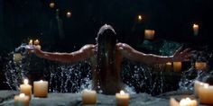 Based on the trailer, Sara is resurrected by the Lazarus Pit, the same pit that Ra's al Ghul uses to stay young and immortal, and the same one that revived Thea Queen. Description from christiantoday.com. I searched for this on bing.com/images