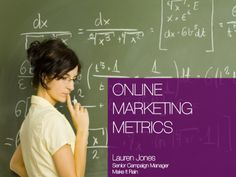 Online marketing metrics describes key basic marketing ROI calculations every marketer should know such as CPA, CPL, CPM etc; Social Media Digital Marketing, Online Marketing, Campaign Manager, Web Analytics, Make It Rain, Mobile Technology, Digital Media, Learning, Studying