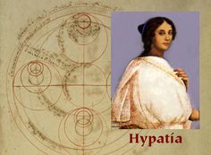 Hypatia, pagan philosopher, scientist, mathematician, and civic leader - assassinated in 415 - links to a very interesting article by Max Dashu, Suppressed Histories Archives