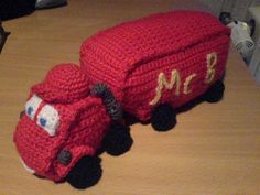 """LKW Truck - Free Amigurumi Pattern English and German - PDF File - click """"download"""" or """"free Ravelry download"""" here: http://www.ravelry.com/patterns/library/lkw"""