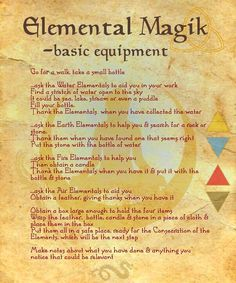 Image result for elemental magick PICS