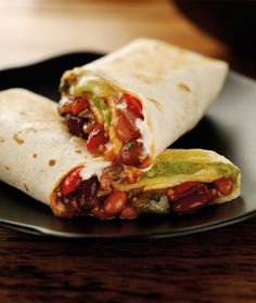 Veggie 'bean burrito' Wrap (Starbucks UK)