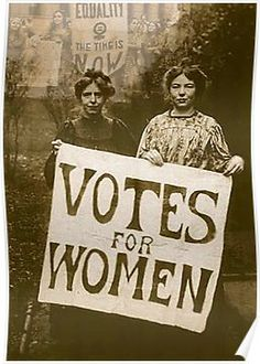 """Votes for Women'. Poster"