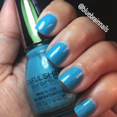SinfulShine With Gel Tech in Skinny Dipping