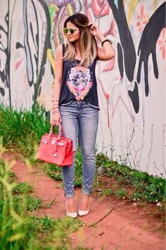 Thassia Naves - casual style
