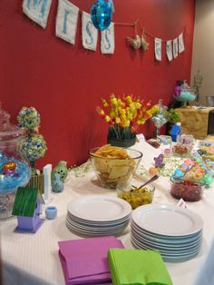"""Lovebirds Bridal Shower - """"From Miss to Mrs."""" Everything from decor to food, check out how to throw a lovebirds shower,  """"Let's Party"""" on Twins in the Cities"""
