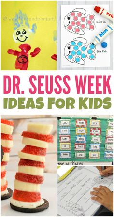 Dr. Seuss Week Fun I