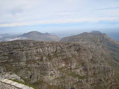 View on top of the Table Mountain
