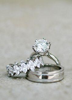 Wedding rings | Kristyn Hogan | blog.theknot.com