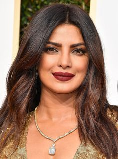 Shop the Exact Lipsticks from the 2017 Golden Globes Red Carpet - Priyanka Chopra from InStyle.com