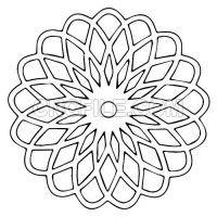 Geometric Tattoo Design, Geometric Art, Mandala Design, Mandala Art, Shape Coloring Pages, Mandala Coloring Pages, Islamic Art Pattern, Pattern Art, Laser Art