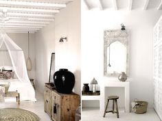 SanGiorgio - small hotel in Mykonos that features a dock nested between rocks on the Aegean Sea