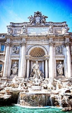 Trevi Fountain, Rome....  Extend your birthday wishes at this amazing tourist attraction... Went for my Champagne bday last year... Don't forget your 3 coins...