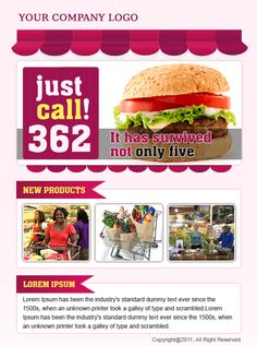 Food and Grocery template which will be imported in template management of www.socialboost.nl.   SocialBoost is an app in which companies can make awesome facebook pages!