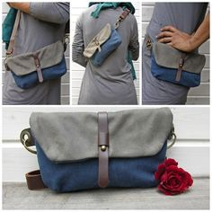Hip Bag - Fanny Pack - Traveler Bag - Utility Hip Belt - Hip Pouch by RuthKraus on Etsy https://www.etsy.com/listing/191718773/hip-bag-fanny-pack-traveler-bag-utility