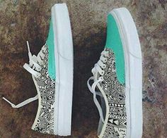 I'm not really a person to wear these, but they are cute! Love the tribal print!