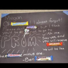 Perfect way to ask a girl to prom