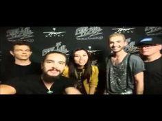 Tokio Hotel, saludos a El Salvador.