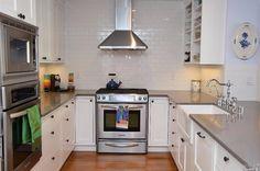 Home Heart Harmony Kitchen Dreaming (Part Three) Kitchen Reno, Kitchen Tiles, Kitchen Countertops, Kitchen Cabinets, Kitchen Appliances, Shower Surround, Shower Tub, Beautiful Kitchens, House Design