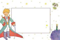Fazendo a Minha Festa!: O Pequeno Príncipe - Kit Completo com molduras para convites, rótulos para guloseimas, lembrancinhas e imagens!