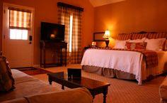 A luxury suite in a Chaumette villa