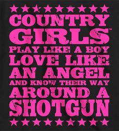 Women's Country Girl ® Shotgun Long Sleeve Tee