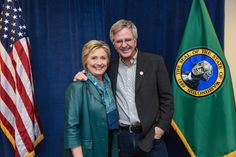 Top 10 Reasons I'm With Her ~ Rick Steves and Hillary Clinton
