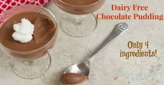 Five Ingredient Friday: Chocolate Pudding - Living Low Carb One Day At A Time