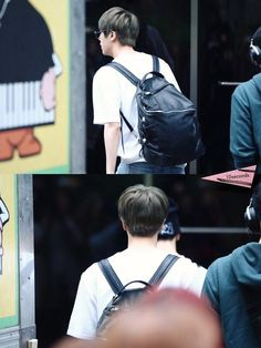 BTS @ 150508 otw to Music Bank
