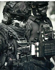 Guns and Military Tactical Armor, Tactical Wear, Military Weapons, Military Army, Ghost Soldiers, Military Special Forces, Sas Special Forces, Future Soldier, Tactical Equipment