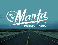 Marfa Public Radio Identity on Behance