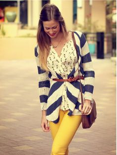 oh. em. gee.  i am so in love with this outfit.  i think i need that bird blouse and sweater. like, now.