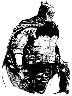 Batman The Dark Knight Returns - Frank Miller by TheOldBrown.deviantart.com on @DeviantArt