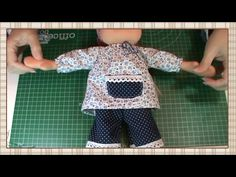Tutorial muñeca waldorf: Blusa - YouTube Doll Videos, Doll Tutorial, Waldorf Dolls, Diy Doll, Doll Clothes, Sewing, Fabric Dolls, How To Make, Easy Christmas Ornaments