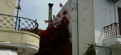 Balconies Skiathos town