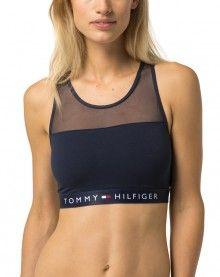 Tommy Hilfiger tmavě modrá podprsenka Bralette - 950 Kč