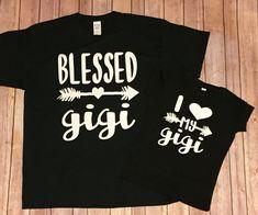 Gigi & Me // I love my Gigi // grandma and by SouthernEdgeDesignCo