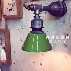 Loft wall lamp industrial lamp water pipe lamp corridor lights personalized light restaurant led lighting $55.80